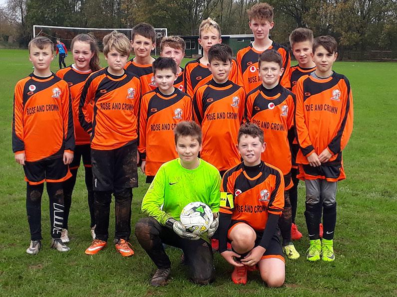 Nether Stowey under 10s Football Team